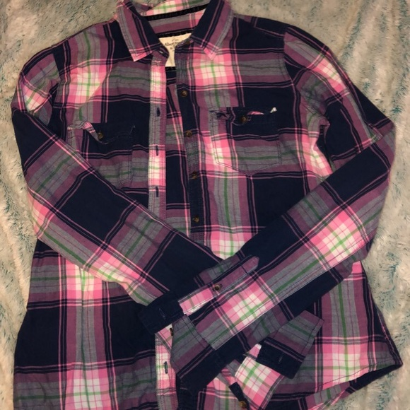 Abercrombie & Fitch Tops - Abercrombie and Fitch Flannel